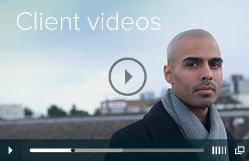 Client videos